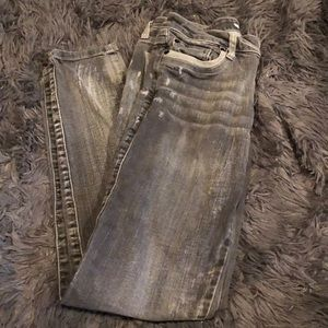 2.1 Denim size 28 skinny jeans